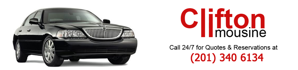 Airport limousine to from Clifton, NJ 07011