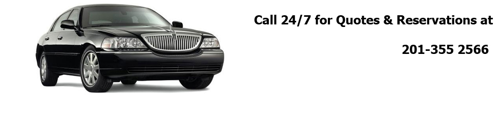 Airport taxi and limo service in Clifton, NJ