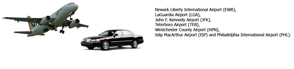 Major Airports in tri state area from to clifton, NJ